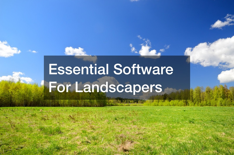 Essential Software For Landscapers